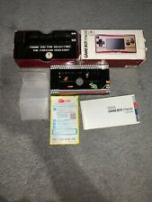 Nintendo Game Boy Micro Famicom Console 20th Anniversary BOX ONLY