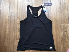Ladies Sketcher Sport Loose Fit Racer Back Vest Top In Black Size Large BNWT