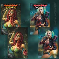 🔥 Harley Quinn & Poison Ivy #1 Shannon Maer Trade + Virgin Variant 4 Book