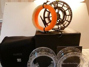 Hardy ASR 5000 Fly Fishing Reel - Comes with 2 spools and free line
