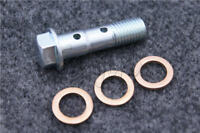 M10 x 1.25 Brake Caliper Master Cylinder Stainless Double Banjo Bolt Motorcycle