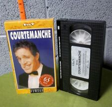 MICHEL COURTEMANCHE French comedian VHS Theatre Grevin 1990 Paris stand-up