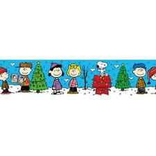 EUREKA Bulletin Board Border PEANUTS GANG Christmas Deco Trim EU845076
