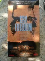 Cry Freedom VHS Video Tape Kevin Kline Denzel Washington MCA Home Video