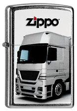 ZIPPO Feuerzeug TRUCK 2 Street Chrome LKW Lastwagen NEU OVP Sammlerstück!