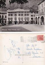 CHIAVENNA: Hotel National - tel n.1    1956