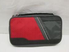 MadCatz GameShark Black & Red Folio Nintendo DS  Zipper Carry Travel Case Bag