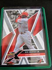 Ken Griffey Jr. #28 (2008 Upper Deck X) Baseball Card, Cincinnati Reds, HOF