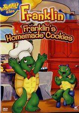 USED  DVD // TREEHOUSE /FRANKLIN'S HOMEMADE COOKIES // ENGLISH & FRENCH // 45min