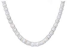 "HONORA FRESHWATER CULTURED PEARL STERLING SILVER 18"" GRADUATED NECKLACE QVC"