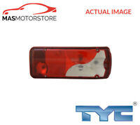 REAR LIGHT TAIL LIGHT LEFT TYC 11-11698-05-2 G NEW OE REPLACEMENT