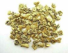 5x High Purity Alaskan Yukon Gold Rush Nuggets (#25-20 Mesh)