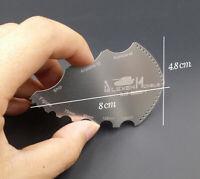 1pc Edge Repair Scraper Resin DIY Edge Horn Repair Knife Modeling Craft AJ0004