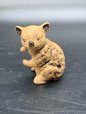 Uctci (Japan) Mini Bisque Porcelain Koala Bear