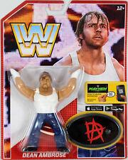WWE RETRO DEAN AMBROSE FIGURE EXCLUSIVE SERIES 3 WWF STYLE THE SHIELD LUNATIC