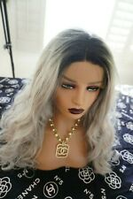 Human wig 100% Real European wig color ash blonde   very long 💋💋💋