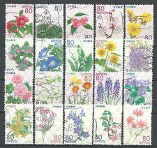 ˳˳ ҉ ˳˳R801-824 Japan Japon Prefectural Flower Hometown ALL 4 SERIES 2011-12 日本