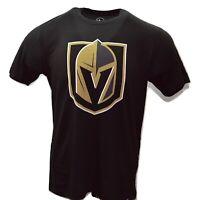 '47 Vegas Golden Knights NHL Jet Black Crosstown Flanker T-Shirt