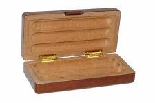 Exklusives Zigarren Etui aus Massiv-Holz für 3 Zigarren und Magnetverschluss
