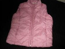 Girl's Pink Smiley hearts Winter jacket vest 86/92 2T 3T