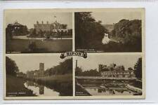 (w15a05-354) Real Photo Multi View of RIPON 1922 Used VG
