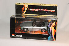 "CORGI JAMES BOND 007 ""THE WORLD IS NOT ENOUGH"" BMW Z8 ROADSTER, NEW IN BOX"