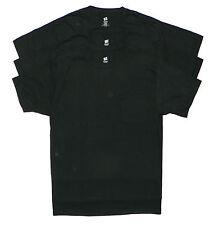 Mens Hanes 100% Cotton POCKET T-Shirts M Medium Lot of 3 - Black NEW