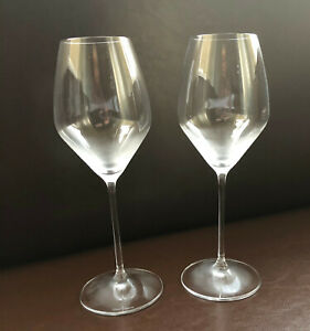 DOM PERIGNON CHAMPAGNE CRYSTAL FLUTE BY RIEDEL X 2  NEW STYLE  24 CMS TALL UNBOX