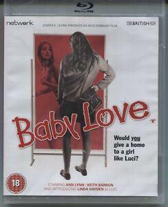Baby Love (1968) - New Blu-ray Region B - Ann Lynn, Keith Barron, Linda Hayden