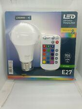 Livarno Lux E27 LED Colour Changing Bulb Remote Control A+ Class Energy Saving
