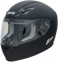 Zamp H75903FL FS-9 M2020D SNELL & DOT Motorcycle/Racing Helmet Matte Black Large