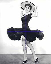 ACTRESS LINDA CRISTAL UPSKIRT NYLONS HEELS LEGGY PHOTO A-LC3
