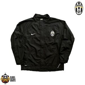 Juventus 2007 Nike Official Training Bench Jacket L/S NikeFITSTORM Serie A Italy