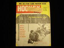 January 1967 Hockey World Magazine - Ullman, MacGregor, Worsley Cover
