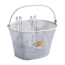 Nantucket Bike Basket Co. Surfside Child Mesh Wire Basket - White