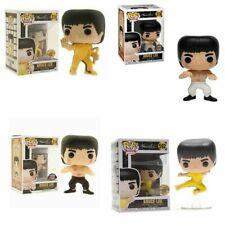 UK Bruce Lee Kung Fu FUNKO POP Limited Edition Action Figure Model Kid Toys Gift