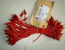 1 Stück 0,20 m Multi-Contact Messleitung / 2 x Lamellenstecker 2 mm rot LK205