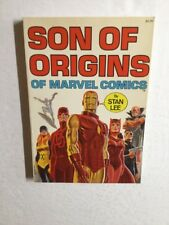 Son Of Origins Of Marvel Comics By Stan Lee Fireside TPB Nm Near Mint 9.4 Or+