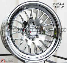 XXR 531 16X8 Rims 4x100/114.3 +0 Platinum Wheels (Set of 4)