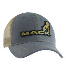 Mack Trucks Rubber Logo Hat Charcoal Summer Mesh back cap New