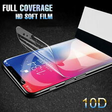 10D Hydrogel Tempered Glass Screen Protector For iPhone 12 Pro Max 11 XS X 7 8