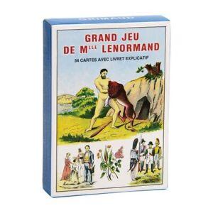 Grand Jeu de Mlle LENORMAND 54 Cartes