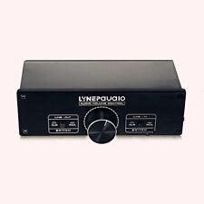2-Channel Full-balanced Passive Preamp Pre-Amplifier Audio Volume Controller