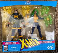 Marvel Legends Xmen Action Figure 2 Pack Havok and Polaris Hasbro Toys NEW!