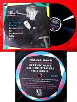 LP Thomas Mann liest Bekenntnisse des Hochstaplers Felix Krull (SF VZ) D 1953