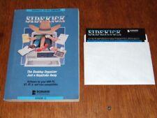 Vintage software: Borland Sidekick on 5.25in floppy disk