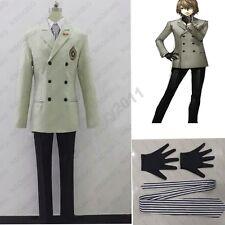 Persona 5 Goro Akechi Cosplay Crow Costume school uniform