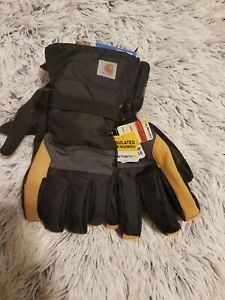 Carhartt Men's XL waterproof insulated gloves A726 breathable New with Tags