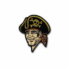OD Embroidered Baseball Patch - Hook & Loop Backing - Bucco -Pittsburgh Pirates