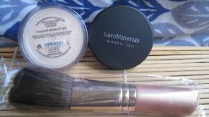 BAREMINERALS  MINERAL VEIL 2G/FLAWLESS FACE BRUSH SET LTD ED